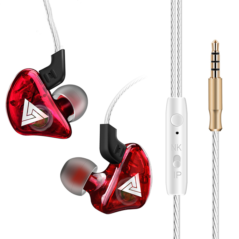 CK5 Sport Wired Earphone Red