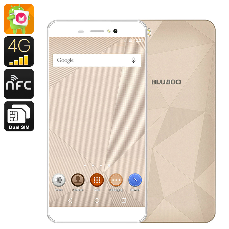 Bluboo Picasso Smartphone (Gold)