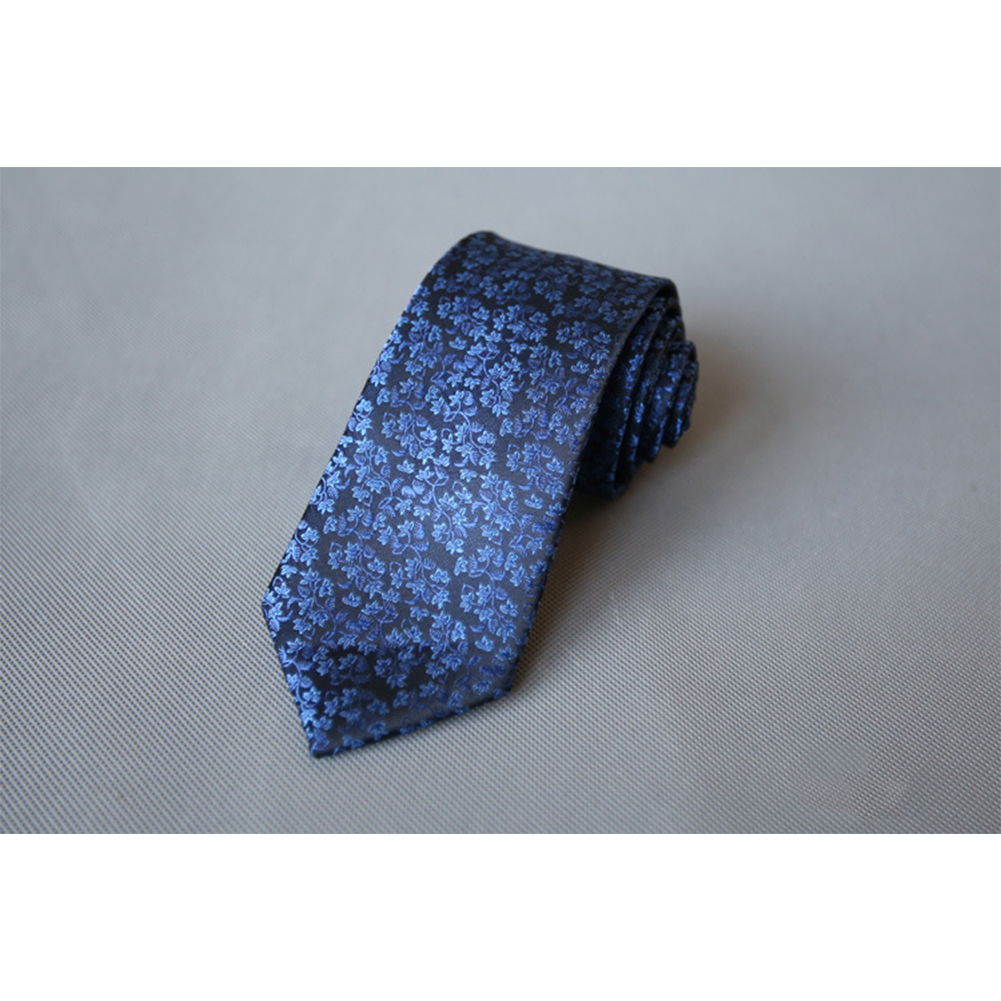 Men's Wedding Polyester Tie 7cm Necktie for Wedding Party Business  QLD-014