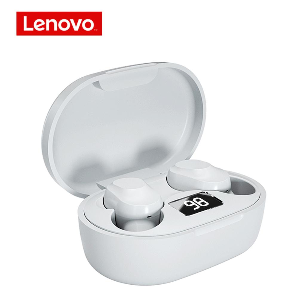 Original LENOVO Xt91 Tws Wireless Bluetooth Earphones Music Headphones Noise Reduction Waterproof Earbuds With Mic White