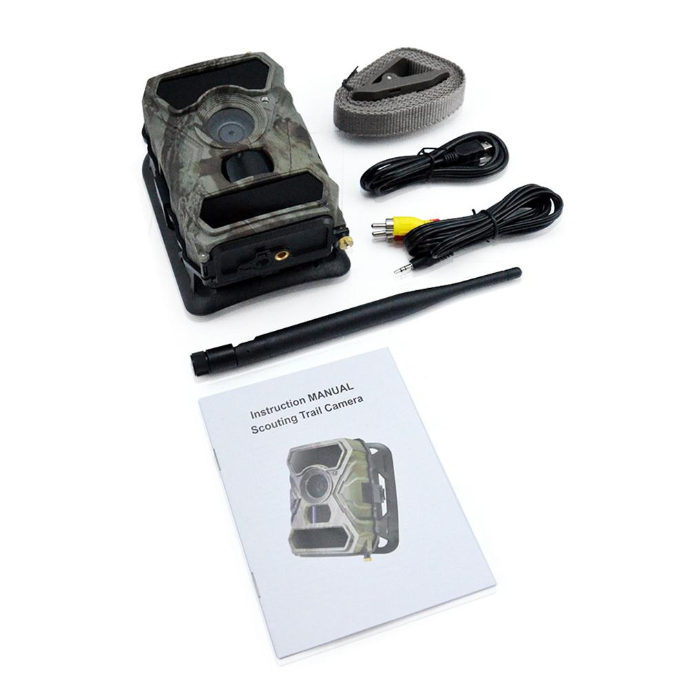 S880G 12MP 1080P 3G Trail Hunting Camera Wireless IR Night Vision Camera Digital Surveillance Cam American version