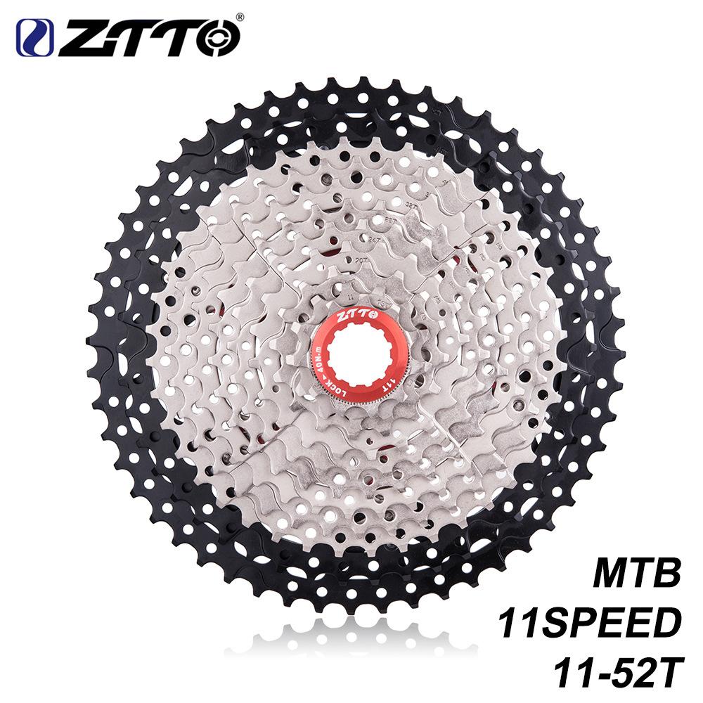 ZTTO MTB 11 Speed Cassette 11 s 11-52 t Mountainbike Freewheel 11-1152t