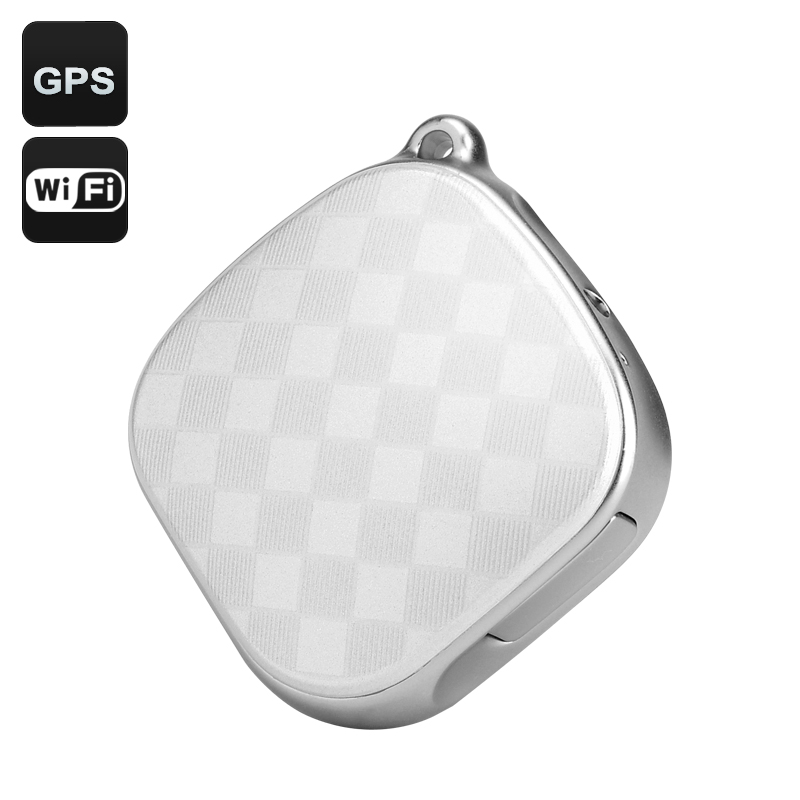 GPS Tracker + Locator (White)