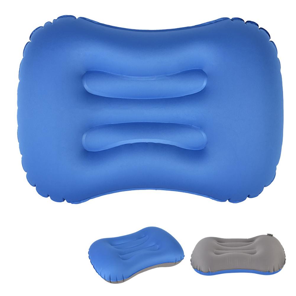 Air Pillow Outdoor Camping Indoor Inflatable Pillow Waist Pillow sapphire