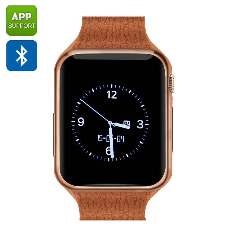Bluetooth Wrist Watch Mobile (Rose Gold)