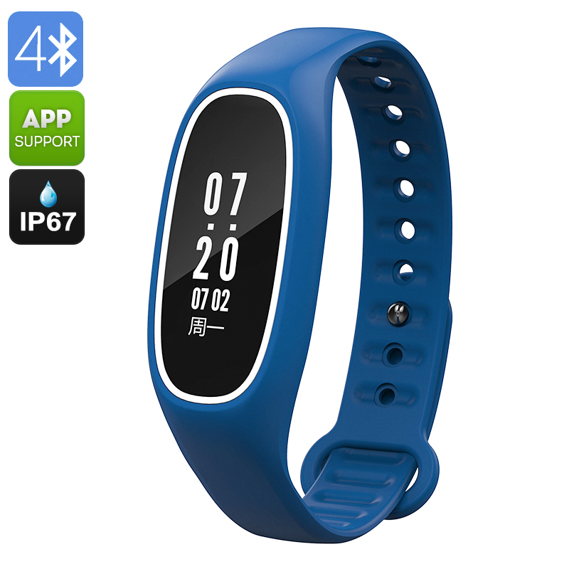 Fitness Tracker Bracelet DB01(Blue)