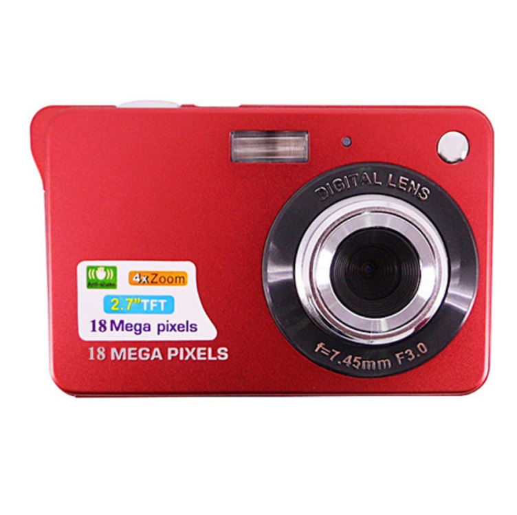 Portable Digital Video Camera - Red