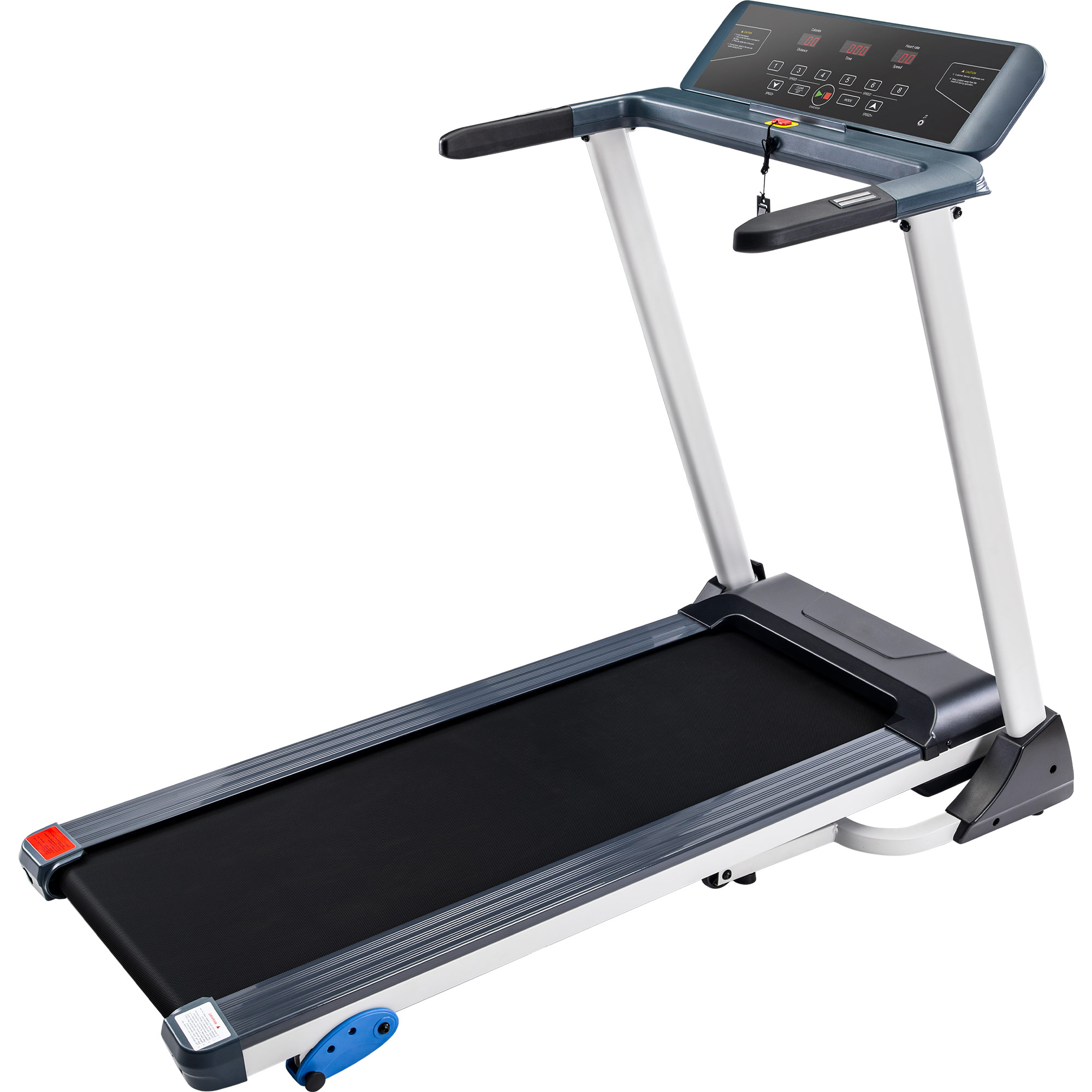 [US Direct] Folding  Treadmill Electric Motorized Running Machine With Bluetooth, Speakers And 3 Incline Options black