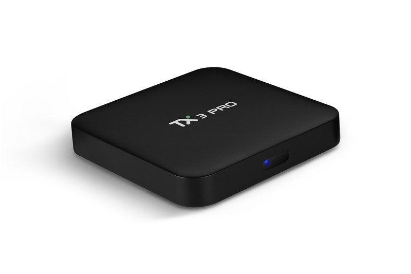 TX3 Pro Android TV Box - 4K Support, Quad-Core CPU, 1GB RAM, Google Play, Kodi TV, Wifi, Android 6.0, 32GB SD Card Support