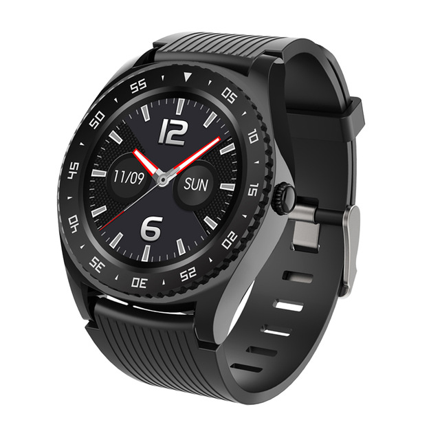 M12 Men Smartwatch HD Call Fitness Sport 2020 Watch 2G Sim TF Card Smartwatch For Android IOS black