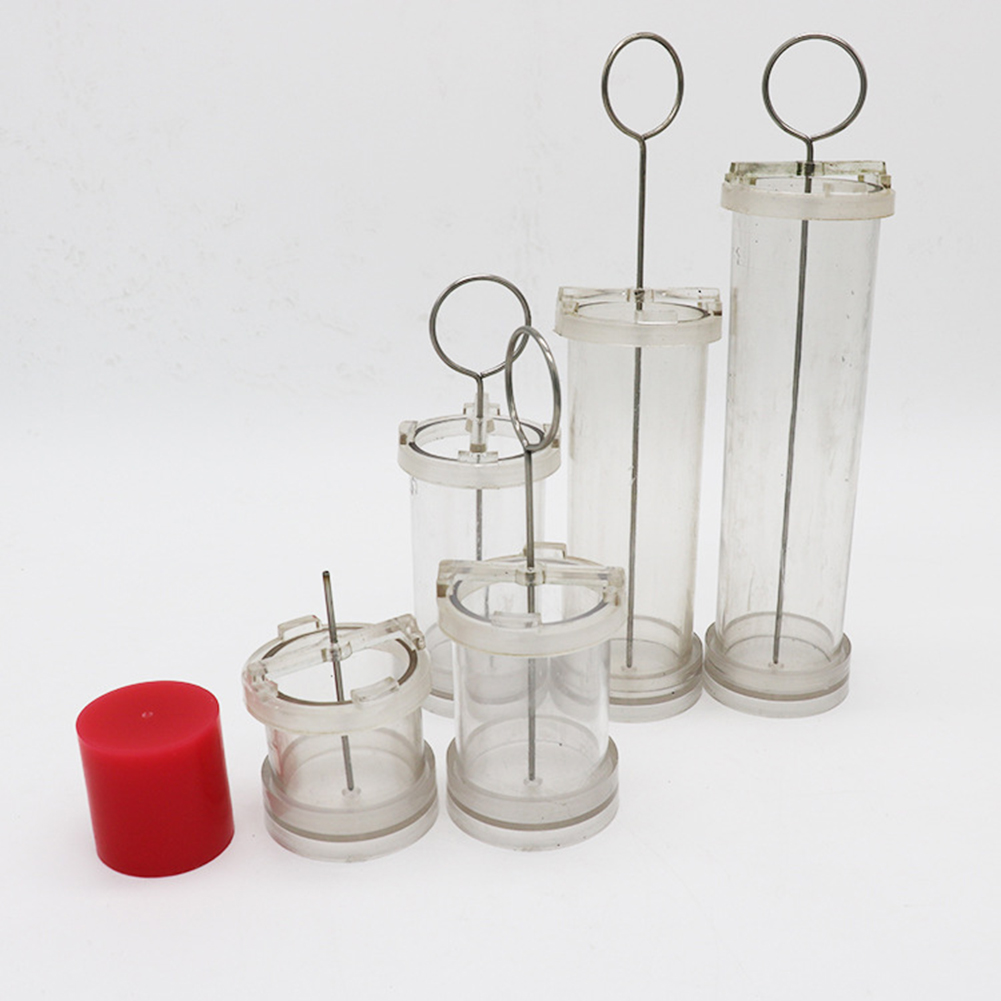 DIY Handmade Candle Cylinder-Shape Wax Mold Scented Candle Making PC Tube Special for Wax Molding