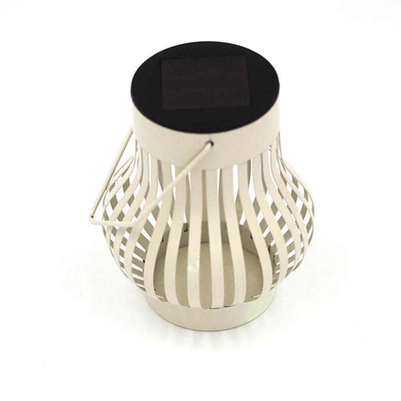 Solar Camping Light Tent Light Household Handlamp Decorative Jack-O-Lantern Iron Lamp
