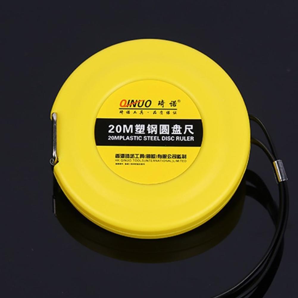 Tape  Measure Steel Blade 20m 30m 50m Hand Operated Disc Ruler Wear Resistant Measuring Ruler