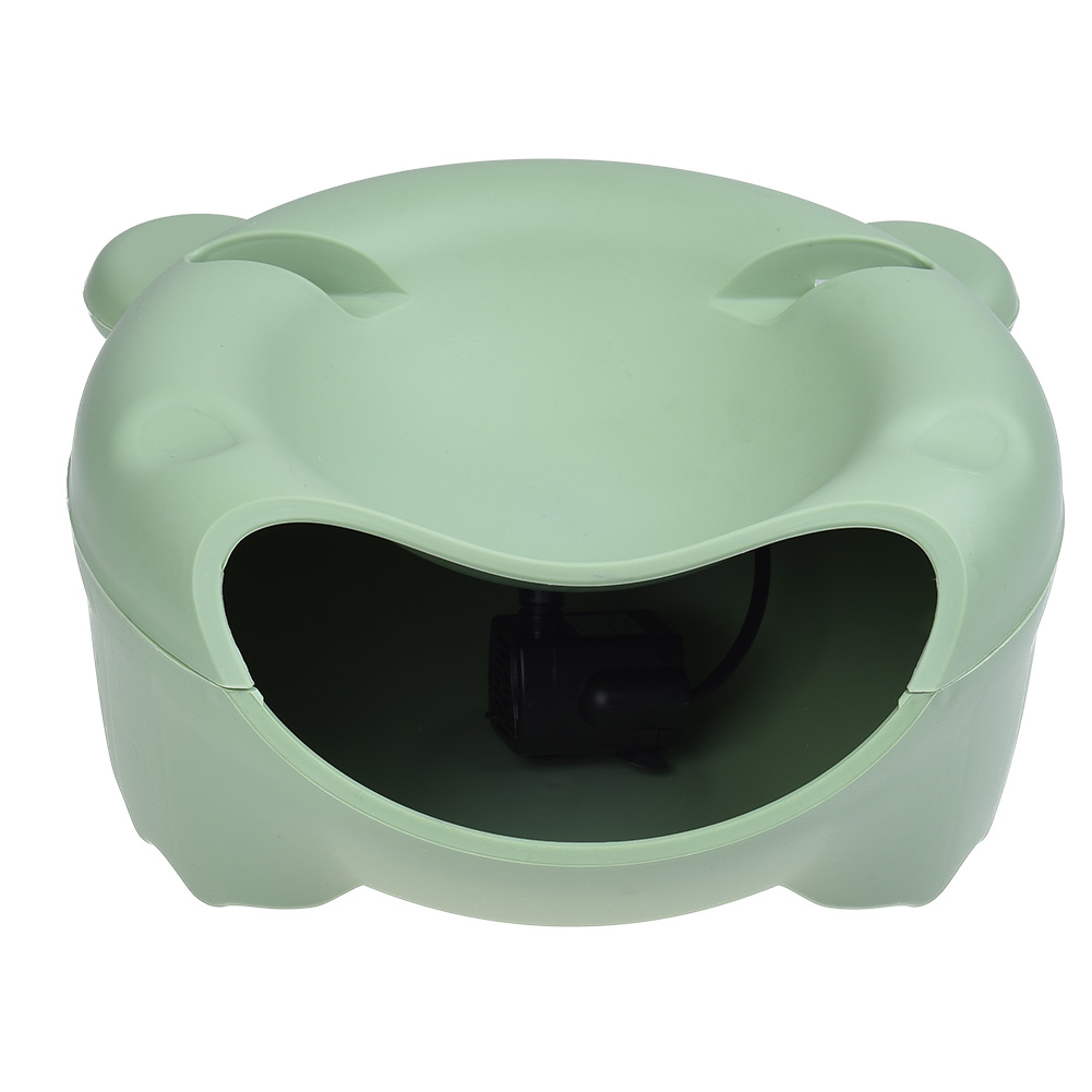 Electric Pet Water Fountain Dispense Green