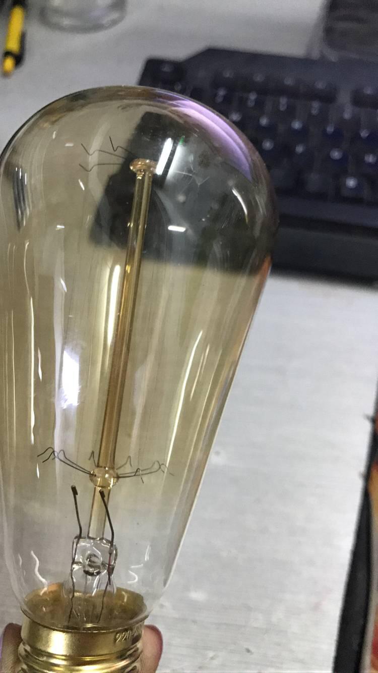 2/4/6/8/40W 220V E27 Edison LED Bulb Vintage White Light Tungsten Wire Light Bulb