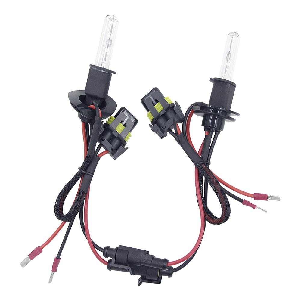 2pcs/set 55W H3 HID Xenon Headlight Bulbs Conversion KIT 3000-12000K for Car