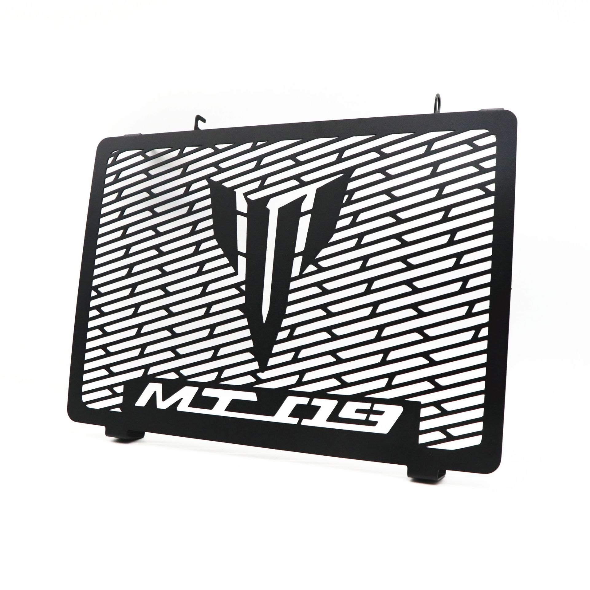 Stainless Steel Motorcycle Radiator Guard Radiator Cover Fits For Yamaha MT-09 MT09 14-17 black