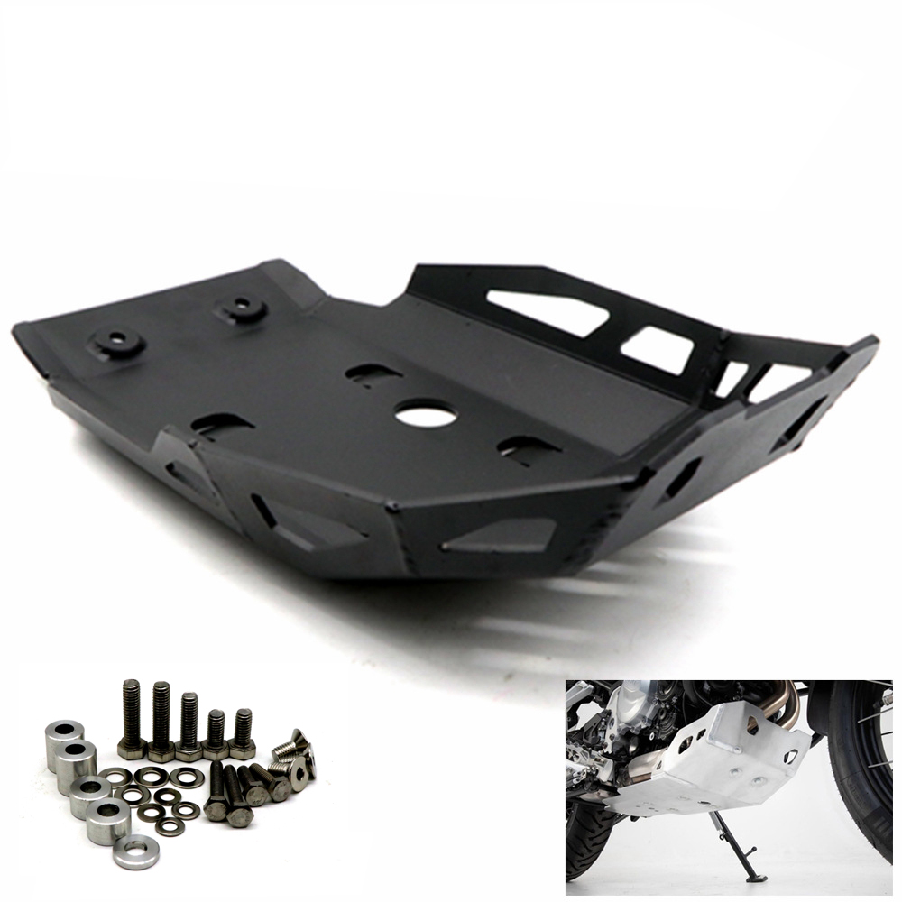 Motorcycle Modified Engine Chassis Protection Cover for BMW F750GS F850GS ADV  black