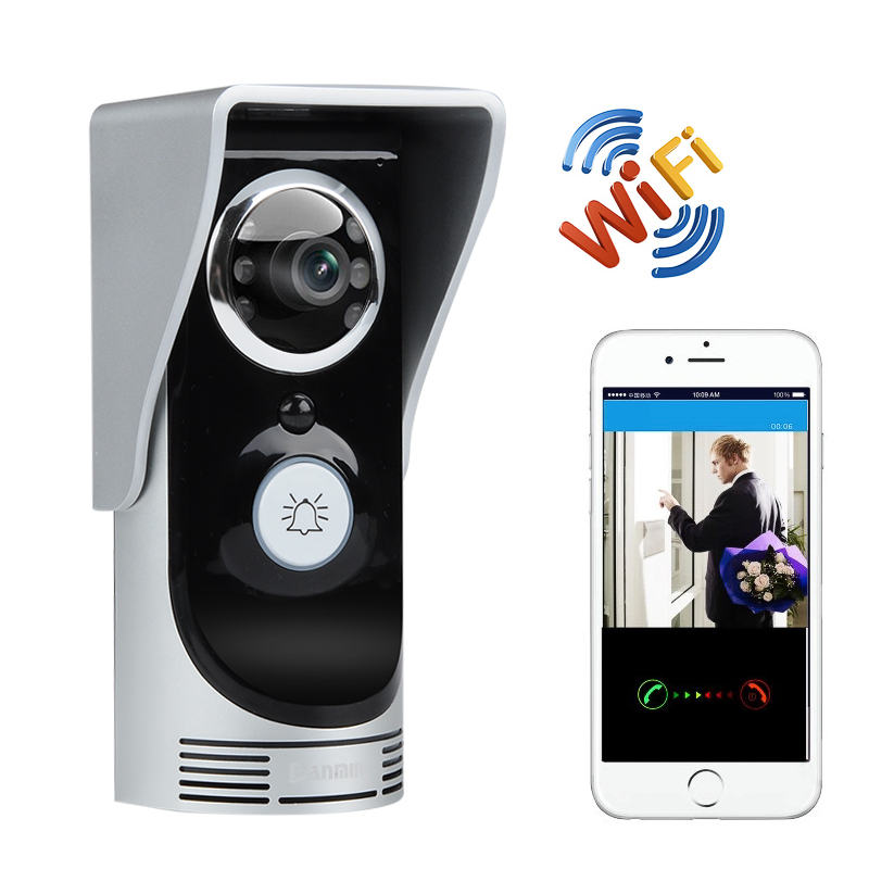 Wi-Fi Door Intercom And Door Bell