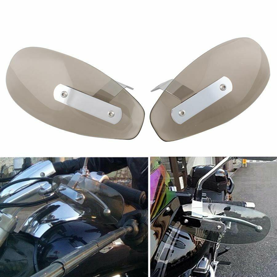Motorcycle Hand Guard Handguard Wind Deflector Shield Protector For Honda 10mm brown