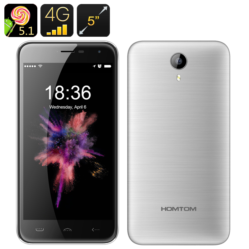 HOMTOM HT3Pro 4G Smartphone (Silver)