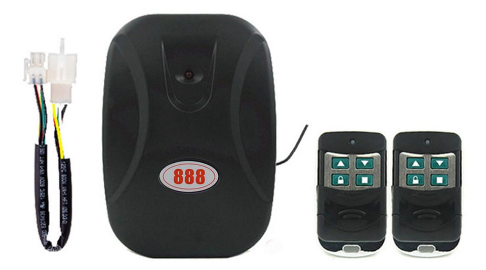 Universal Chain Motor Garage Door Remote Control Wireless Door Intelligent Remote Control black