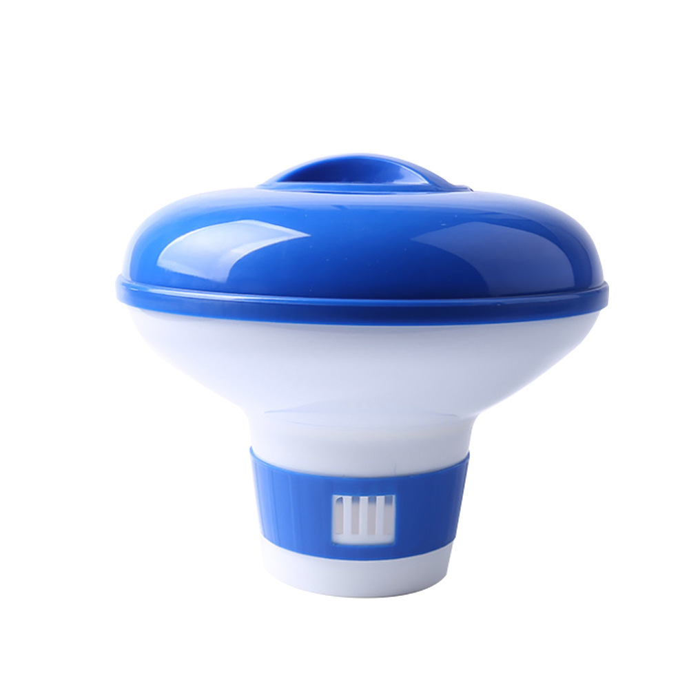 Swimming Pool Chemical Floater Chlorine Bromine Tablets Floating Dispenser Applicator Spa Hot Tub Supplies 5 inch