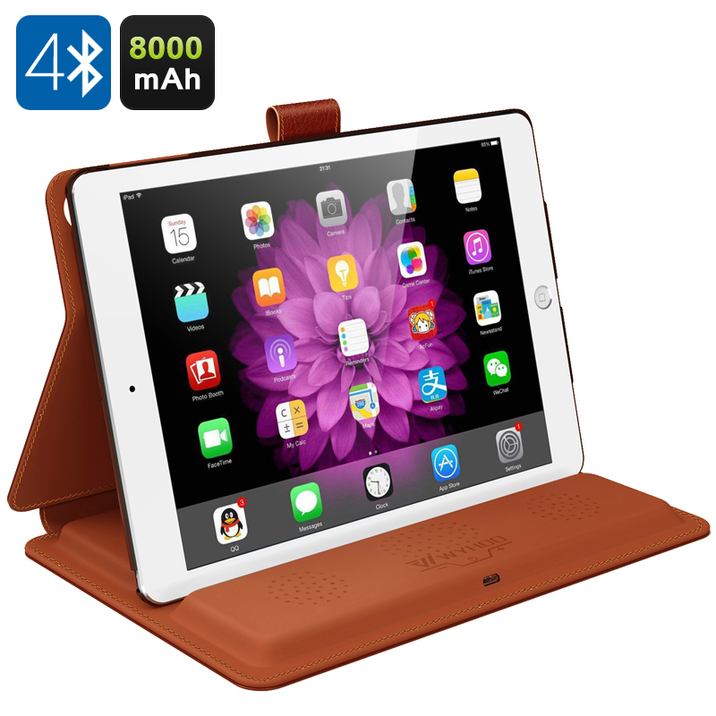 WYHOO 3-in-1 iPad Case (Brown)