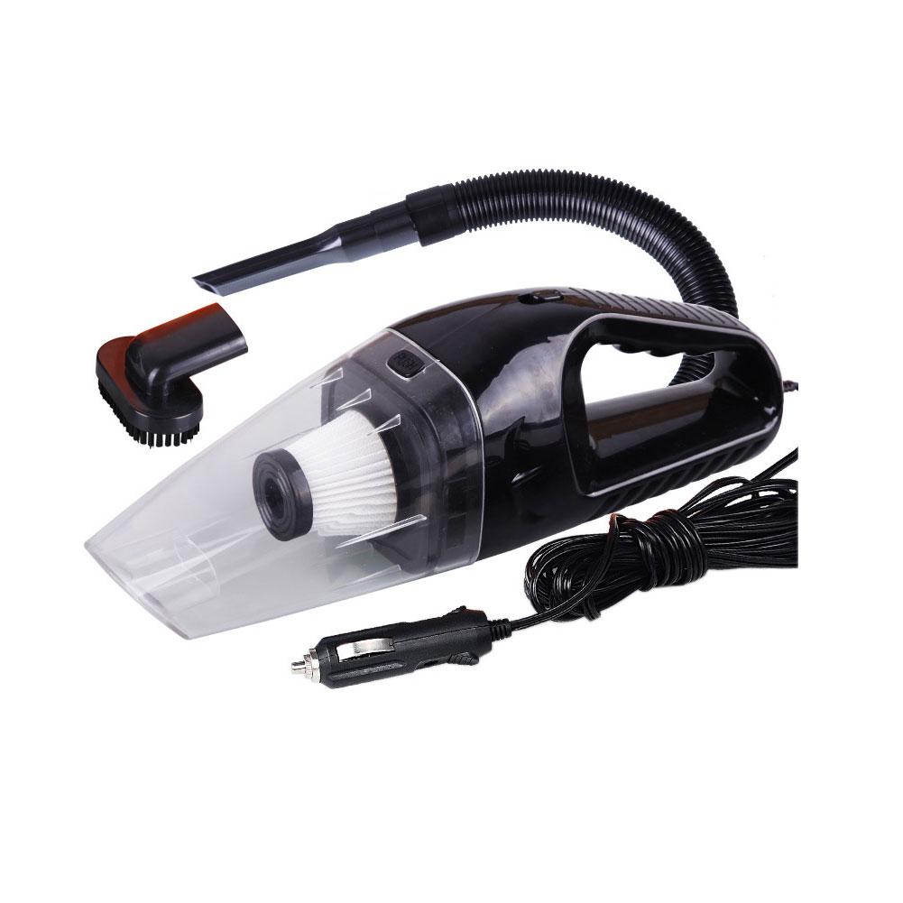 Car Vacuum Cleaner 150W 12V Portable Handheld Auto Vacuum Cleaner Wet Dry Dual Use Duster black