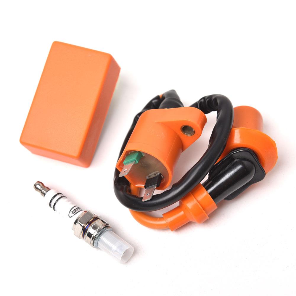 GY6 QMJ/QMI157 QMJ/QMI152 4-stroke Engines Spark Plug- 3Pcs/Set