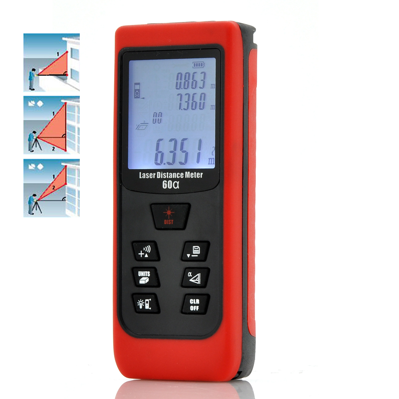 Hand-Held Digital Laser Distance Meter