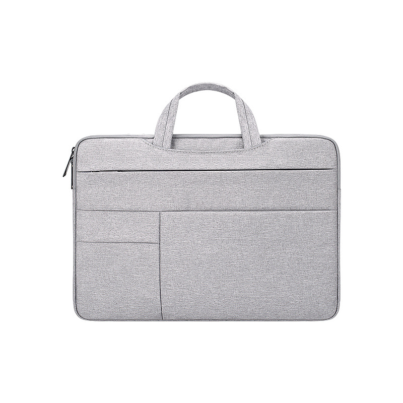 Simple Laptop Case Bag for Macbook Air 11.6 inches, 12.5 inches, 13.3 inches, 14.1 inches Notebook Handbag  grey_14.1 inch