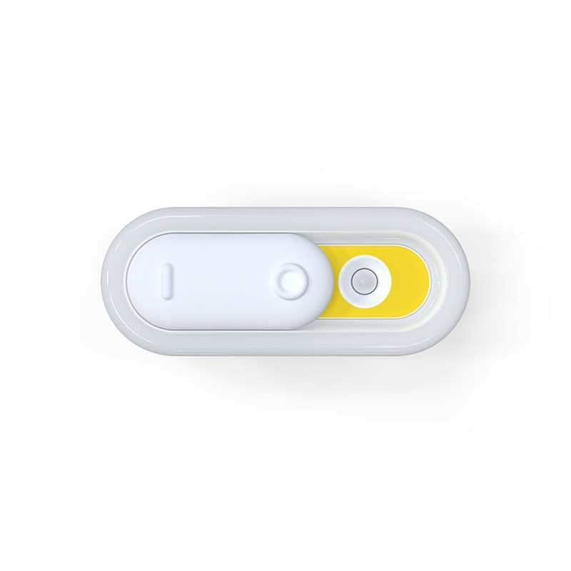 Led Night Light USB Charging Body Motion Sensor Induction Lamp for Corridor Cabinet Bedside Orange
