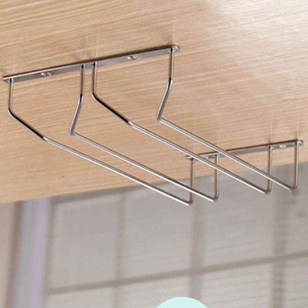 Stainless Steel Wine Glass Hanging Rack