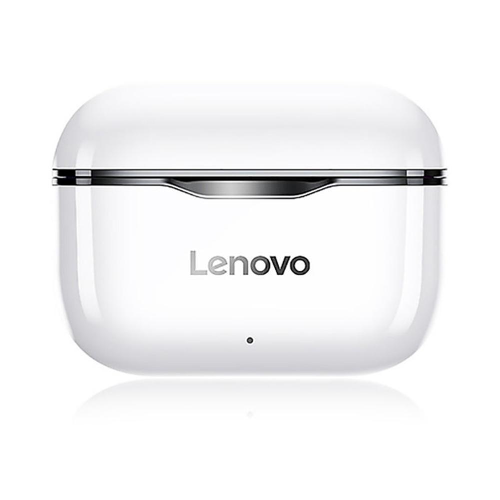 Original LENOVO Lp1 Tws Wireless Earphone Bluetooth 5.0 Dual Stereo Noise Reduction Bass Touch Control Earphones black