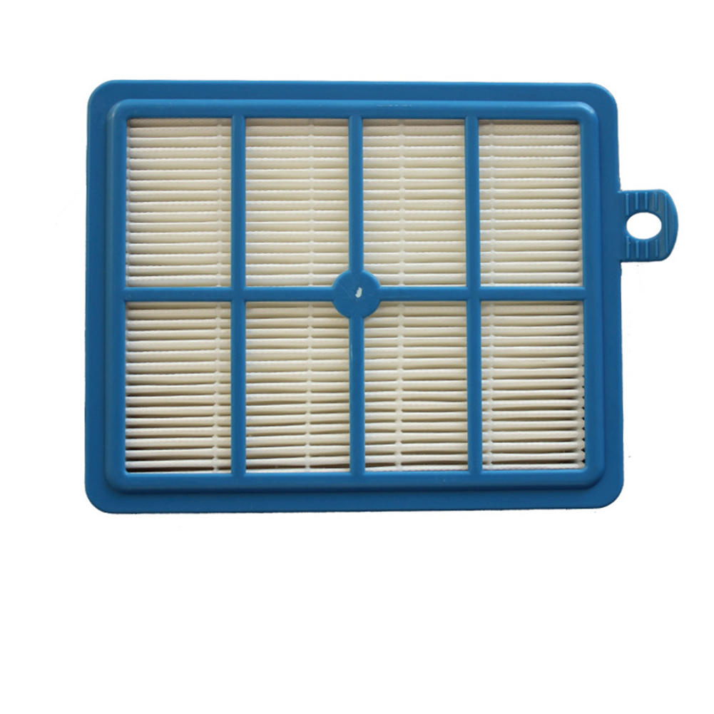 Household Vacuum Filter Element Filter Screen for Philips Electrolux Vacuum Cleaner Replace Parts  Blue and white
