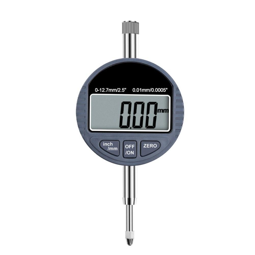 Range Gauge Digital Dial indicator Precision Tool Percentage Micrometer Tester Tools Dial indicator 0-12.7mm)