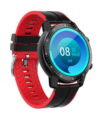 Unisex Smart  Watch S30 Sleep Activity Monitor Call Sms Alerts 360mah Smartwatch Sports Watch red