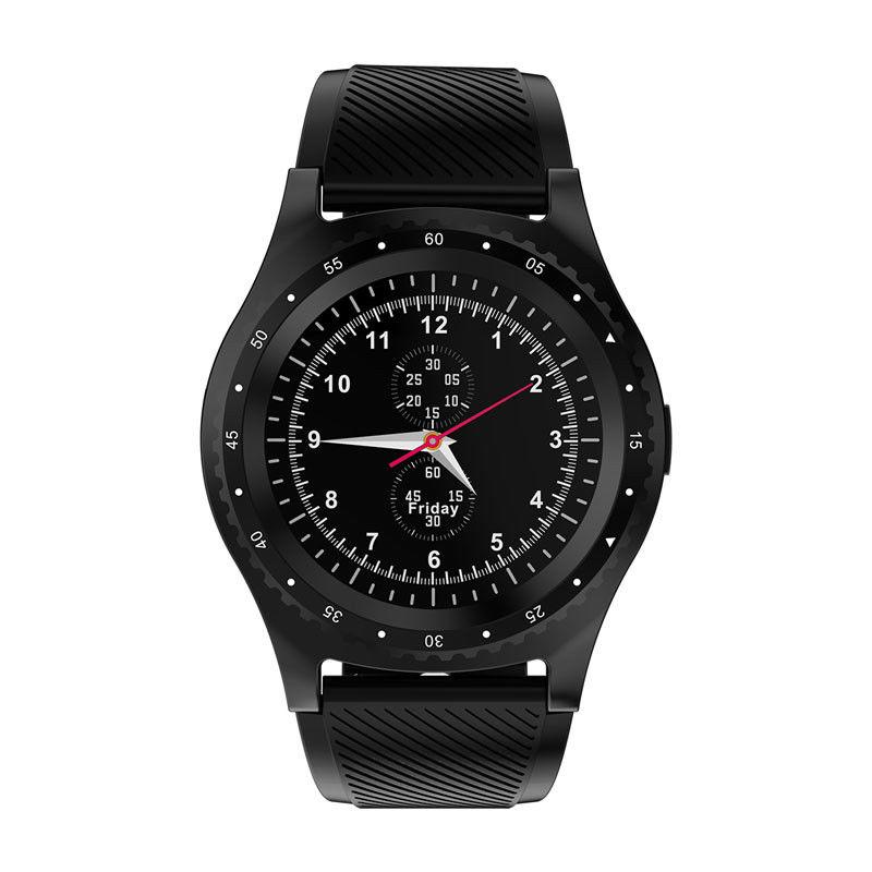 L9 Multi-functional Sport Smart Watch Information Reminder Support SIM TF Card  black