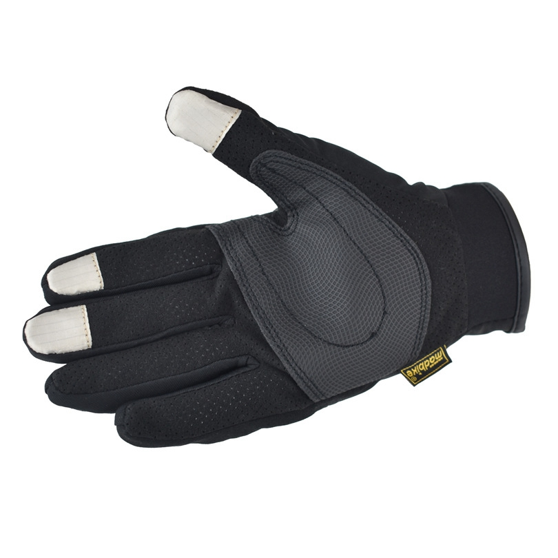 Motorcycle Gloves Summer Glove Full Finger Motorbike Screen Touch for Cycling Racing M_Summer palm with hole