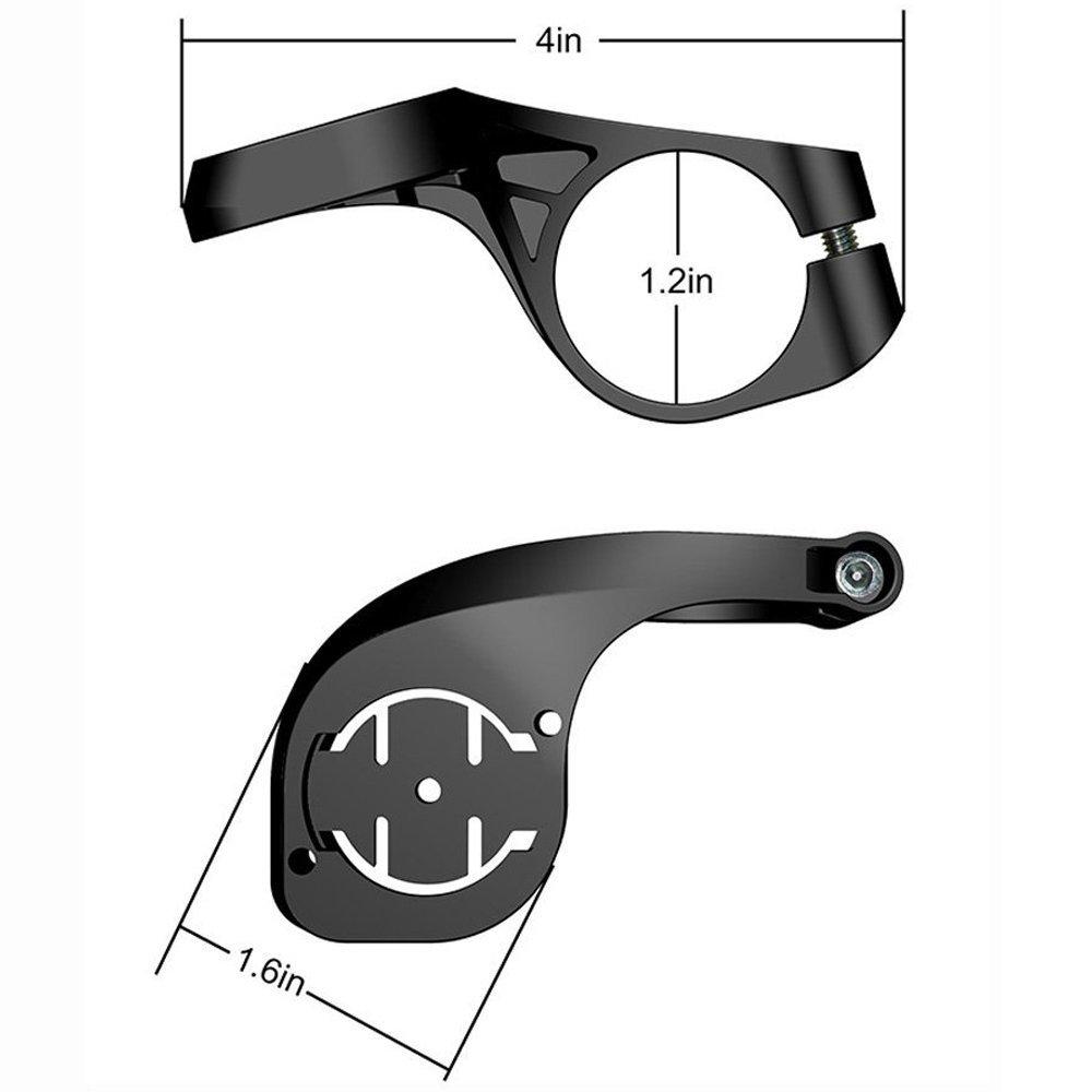 Bicycle speed meter extension bracket Road Mountain Compatible Cat Eye Speed Meter Bracket Mountain short_Free size