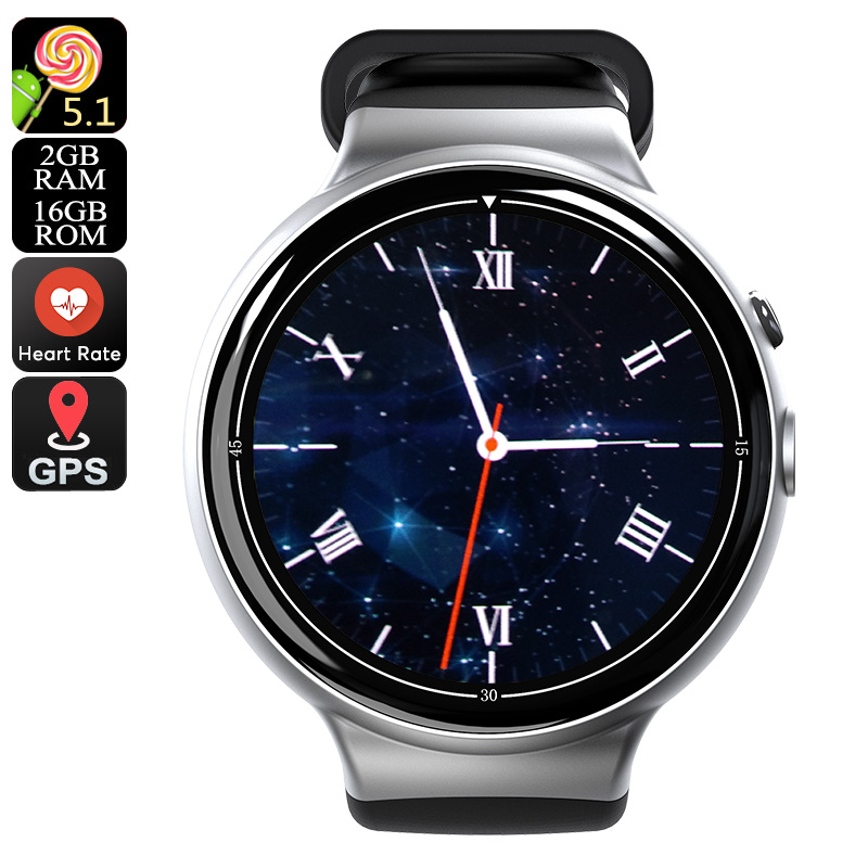 I4 Air Smart Watch Phone (Silver)