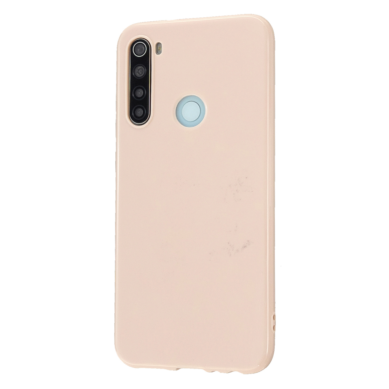 For Redmi Note 8/8 Pro Cellphone Cover Reinforced Soft TPU Phone Case Anti-scratch Full Body Protection Sakura pink