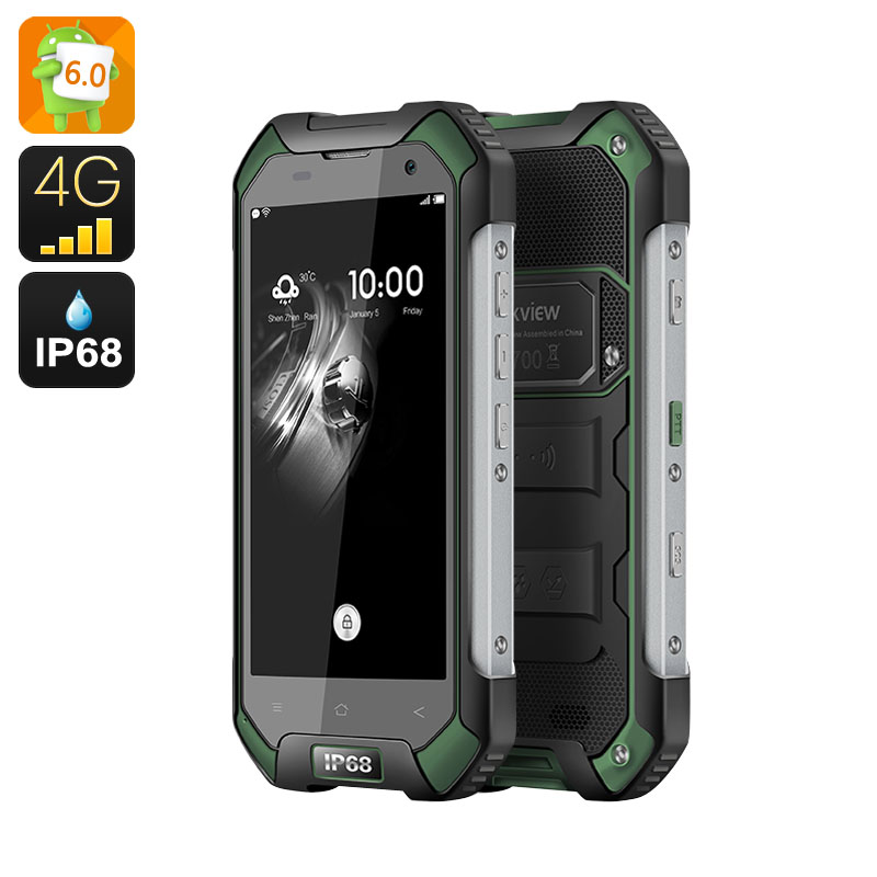 Blackview BV6000S IP68 Smartphone (Green)
