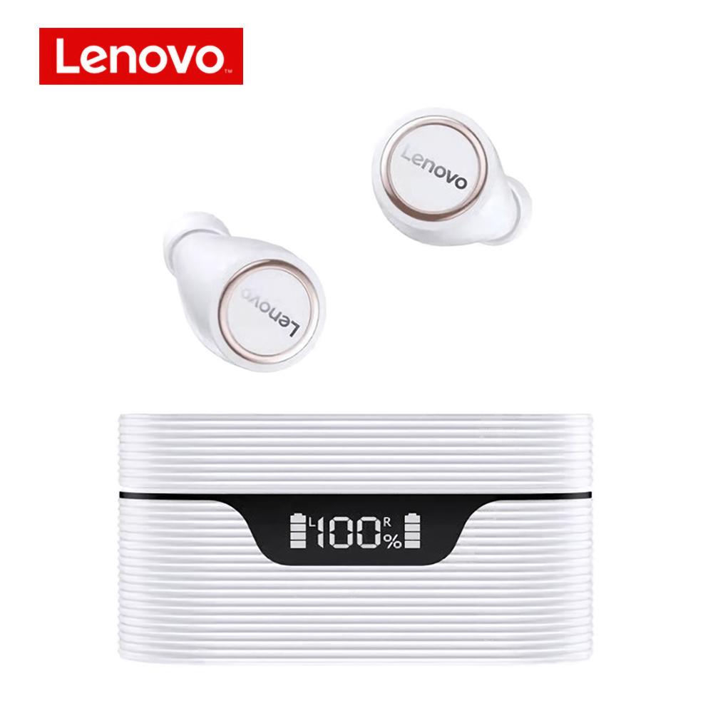 Original LENOVO Lp12 Tws Wireless Bluetooth 5.0 Headphone Dual Stereo Noise Reduction Ipx5 Waterproof Earphones white