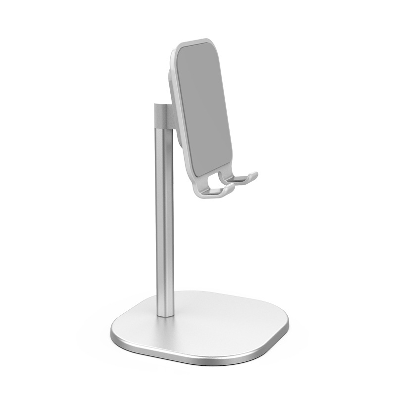 Universal Desk Telescopic Cell Phone Holder Stand For Mobile Phone/Tablet Desktop Cellphone Holder for iphone ipad xiaomi Stand Universal Bracket Standard silver