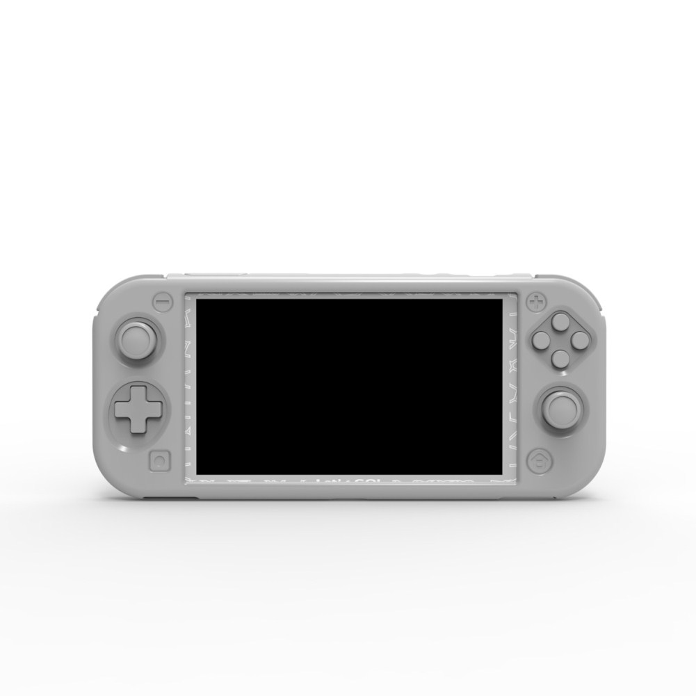 Silicone Protective Cover for Switch Lite Console gray