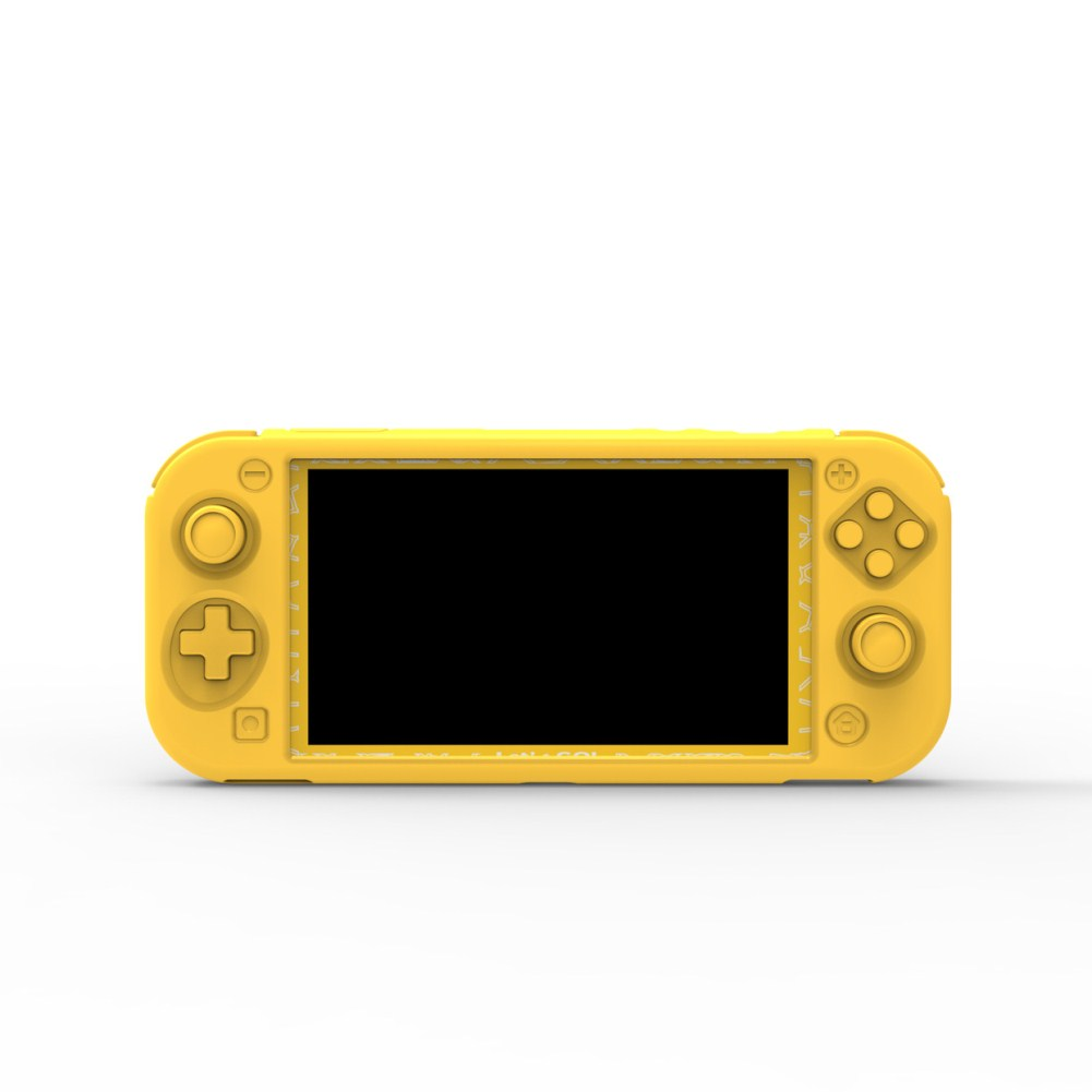 Silicone Protective Cover for Switch Lite Console yellow