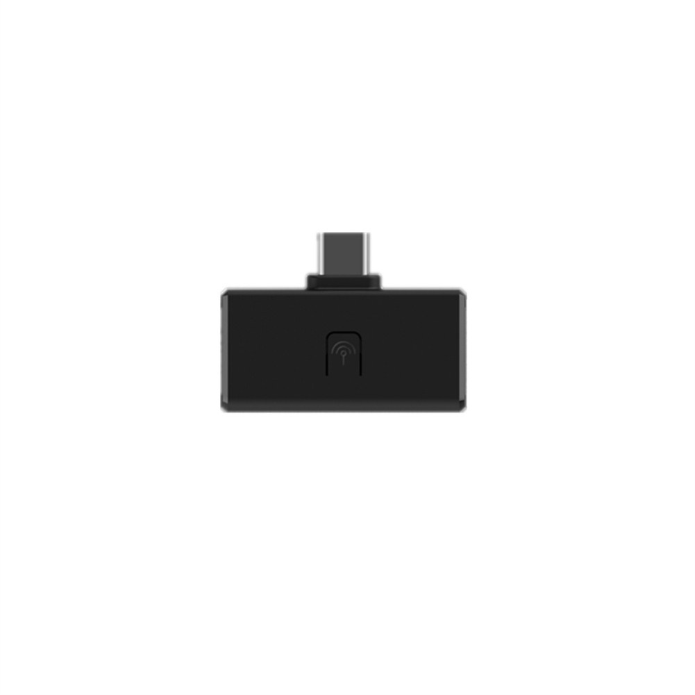 For Switch/PS4 Bluetooth Earphone Adapter PC Bluetooth Receiver black