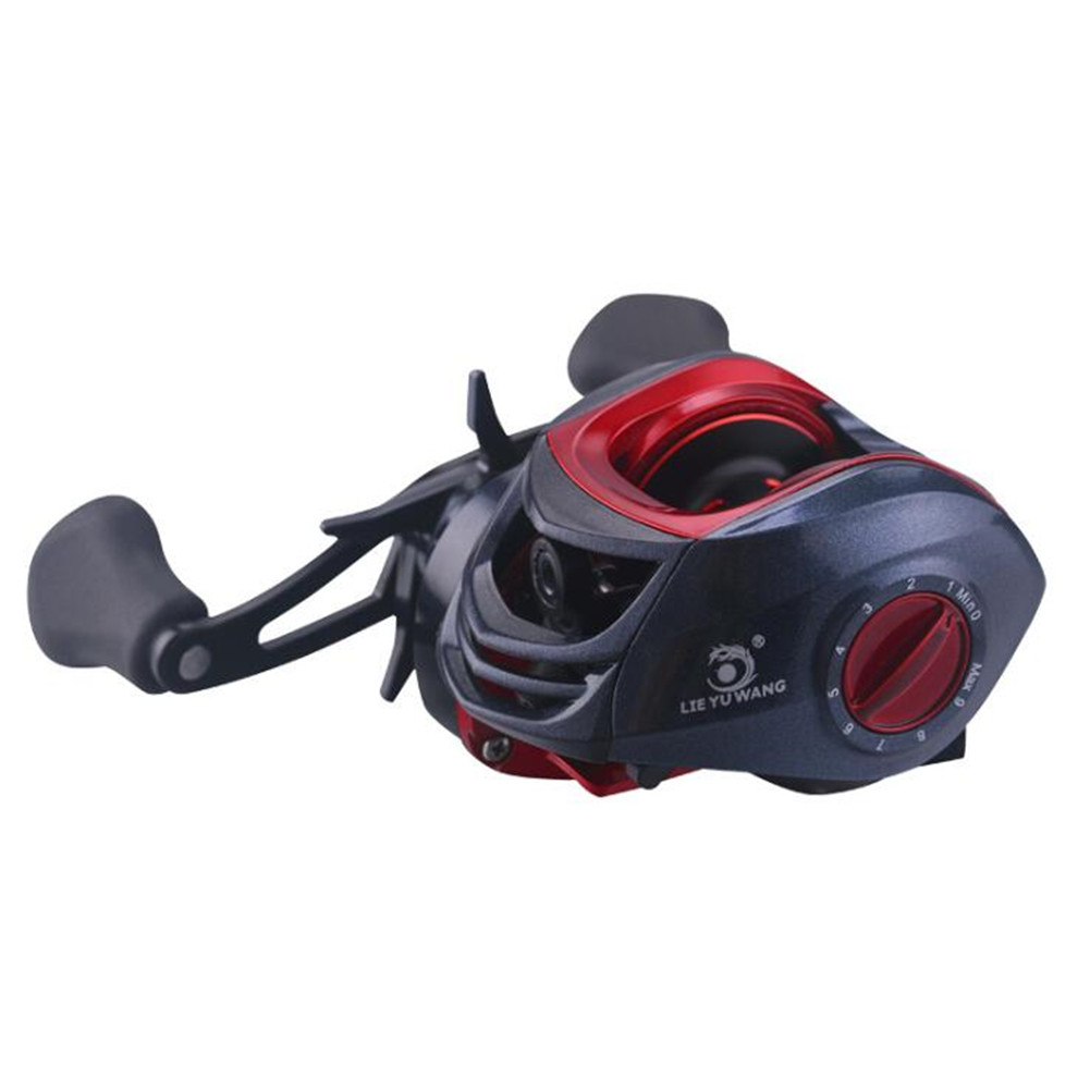 Metal Water Droplet Fishing Reel Gear